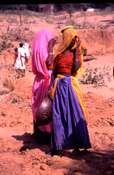 India-Rajasthan-young-working-women